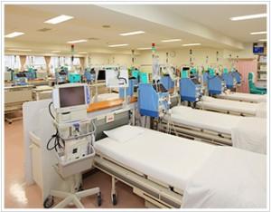透析室ベッド