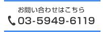 電話番号03-5949-6119